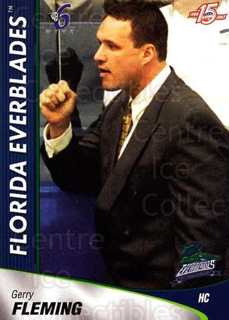 2002-03 Florida Everblades #23 Gerry Fleming<br/>10 In Stock - $3.00 each - <a href=https://centericecollectibles.foxycart.com/cart?name=2002-03%20Florida%20Everblades%20%2323%20Gerry%20Fleming...&quantity_max=10&price=$3.00&code=475274 class=foxycart> Buy it now! </a>