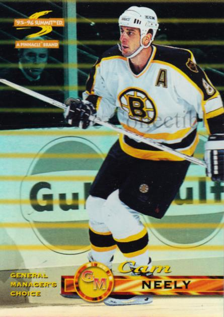 1995-96 Summit GMs Choice #12 Cam Neely<br/>1 In Stock - $5.00 each - <a href=https://centericecollectibles.foxycart.com/cart?name=1995-96%20Summit%20GMs%20Choice%20%2312%20Cam%20Neely...&quantity_max=1&price=$5.00&code=475387 class=foxycart> Buy it now! </a>