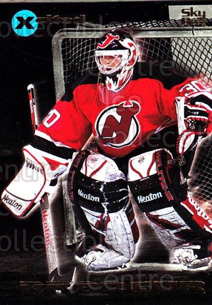 1995-96 Emotion Xcited #18 Martin Brodeur<br/>2 In Stock - $3.00 each - <a href=https://centericecollectibles.foxycart.com/cart?name=1995-96%20Emotion%20Xcited%20%2318%20Martin%20Brodeur...&price=$3.00&code=475425 class=foxycart> Buy it now! </a>