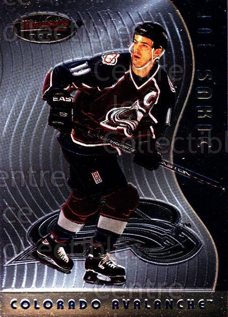 1995-96 Bowmans Best #11 Joe Sakic<br/>1 In Stock - $3.00 each - <a href=https://centericecollectibles.foxycart.com/cart?name=1995-96%20Bowmans%20Best%20%2311%20Joe%20Sakic...&price=$3.00&code=475480 class=foxycart> Buy it now! </a>