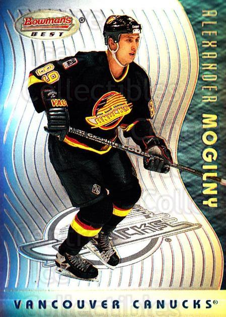 1995-96 Bowmans Best Refractors #9 Alexander Mogilny<br/>1 In Stock - $5.00 each - <a href=https://centericecollectibles.foxycart.com/cart?name=1995-96%20Bowmans%20Best%20Refractors%20%239%20Alexander%20Mogil...&quantity_max=1&price=$5.00&code=475492 class=foxycart> Buy it now! </a>