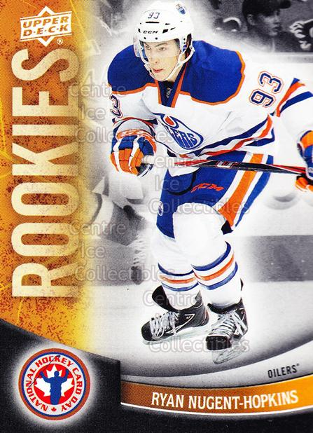 2012 Upper Deck National Hockey Card Day Canada #2 Ryan Nugent-Hopkins<br/>1 In Stock - $2.00 each - <a href=https://centericecollectibles.foxycart.com/cart?name=2012%20Upper%20Deck%20National%20Hockey%20Card%20Day%20Canada%20%232%20Ryan%20Nugent-Hop...&price=$2.00&code=476025 class=foxycart> Buy it now! </a>