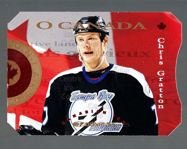 1996-97 Canadian Ice O Canada #8 Chris Gratton<br/>5 In Stock - $3.00 each - <a href=https://centericecollectibles.foxycart.com/cart?name=1996-97%20Canadian%20Ice%20O%20Canada%20%238%20Chris%20Gratton...&quantity_max=5&price=$3.00&code=47619 class=foxycart> Buy it now! </a>