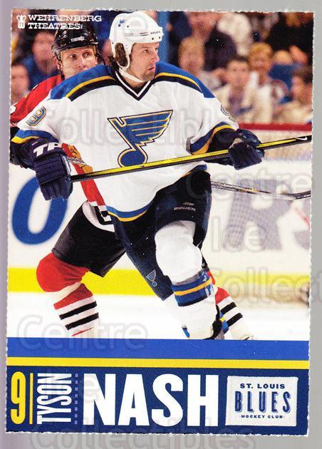 2002-03 St. Louis Blues Team Issued #17 Tyson Nash<br/>1 In Stock - $3.00 each - <a href=https://centericecollectibles.foxycart.com/cart?name=2002-03%20St.%20Louis%20Blues%20Team%20Issued%20%2317%20Tyson%20Nash...&quantity_max=1&price=$3.00&code=476241 class=foxycart> Buy it now! </a>