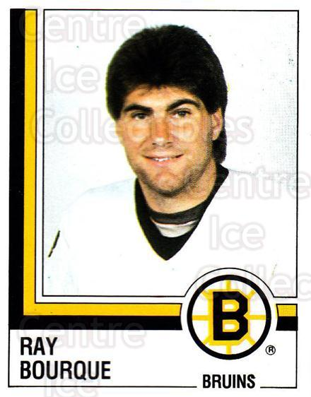 1987-88 Panini Stickers #6 Ray Bourque<br/>10 In Stock - $5.00 each - <a href=https://centericecollectibles.foxycart.com/cart?name=1987-88%20Panini%20Stickers%20%236%20Ray%20Bourque...&quantity_max=10&price=$5.00&code=476386 class=foxycart> Buy it now! </a>