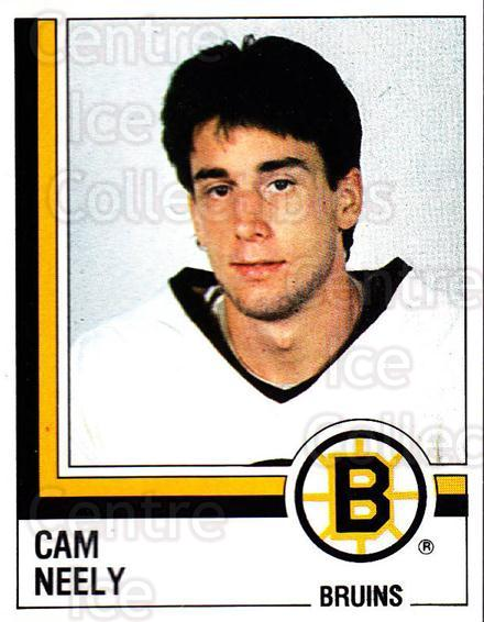 1987-88 Panini Stickers #10 Cam Neely<br/>17 In Stock - $5.00 each - <a href=https://centericecollectibles.foxycart.com/cart?name=1987-88%20Panini%20Stickers%20%2310%20Cam%20Neely...&quantity_max=17&price=$5.00&code=476390 class=foxycart> Buy it now! </a>
