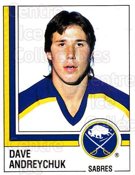 1987-88 Panini Stickers #27 Dave Andreychuk<br/>32 In Stock - $2.00 each - <a href=https://centericecollectibles.foxycart.com/cart?name=1987-88%20Panini%20Stickers%20%2327%20Dave%20Andreychuk...&quantity_max=32&price=$2.00&code=476407 class=foxycart> Buy it now! </a>