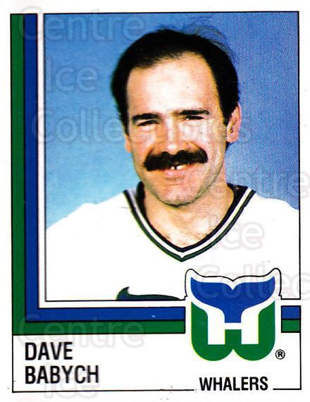 1987-88 Panini Stickers #40 Dave Babych<br/>42 In Stock - $2.00 each - <a href=https://centericecollectibles.foxycart.com/cart?name=1987-88%20Panini%20Stickers%20%2340%20Dave%20Babych...&quantity_max=42&price=$2.00&code=476420 class=foxycart> Buy it now! </a>