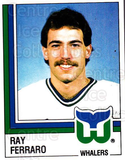 1987-88 Panini Stickers #46 Ray Ferraro<br/>74 In Stock - $2.00 each - <a href=https://centericecollectibles.foxycart.com/cart?name=1987-88%20Panini%20Stickers%20%2346%20Ray%20Ferraro...&quantity_max=74&price=$2.00&code=476426 class=foxycart> Buy it now! </a>