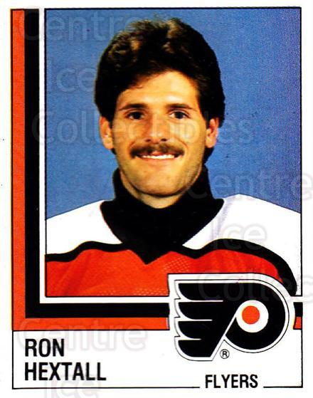 1987-88 Panini Stickers #123 Ron Hextall<br/>1 In Stock - $5.00 each - <a href=https://centericecollectibles.foxycart.com/cart?name=1987-88%20Panini%20Stickers%20%23123%20Ron%20Hextall...&price=$5.00&code=476503 class=foxycart> Buy it now! </a>