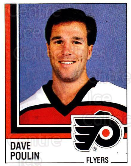 1987-88 Panini Stickers #130 Dave Poulin<br/>56 In Stock - $2.00 each - <a href=https://centericecollectibles.foxycart.com/cart?name=1987-88%20Panini%20Stickers%20%23130%20Dave%20Poulin...&quantity_max=56&price=$2.00&code=476510 class=foxycart> Buy it now! </a>