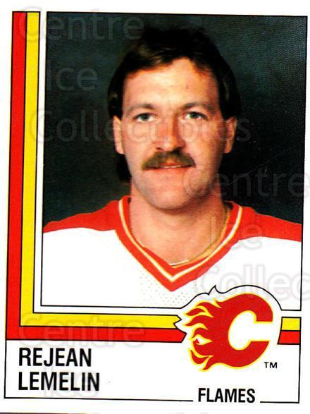 1987-88 Panini Stickers #204 Rejean Lemelin<br/>64 In Stock - $3.00 each - <a href=https://centericecollectibles.foxycart.com/cart?name=1987-88%20Panini%20Stickers%20%23204%20Rejean%20Lemelin...&price=$3.00&code=476584 class=foxycart> Buy it now! </a>