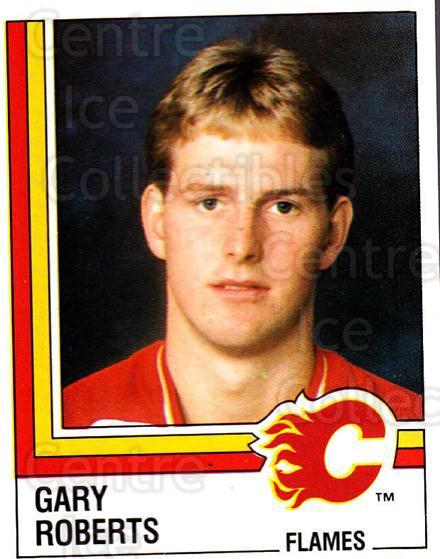 1987-88 Panini Stickers #217 Gary Roberts<br/>1 In Stock - $5.00 each - <a href=https://centericecollectibles.foxycart.com/cart?name=1987-88%20Panini%20Stickers%20%23217%20Gary%20Roberts...&price=$5.00&code=476597 class=foxycart> Buy it now! </a>