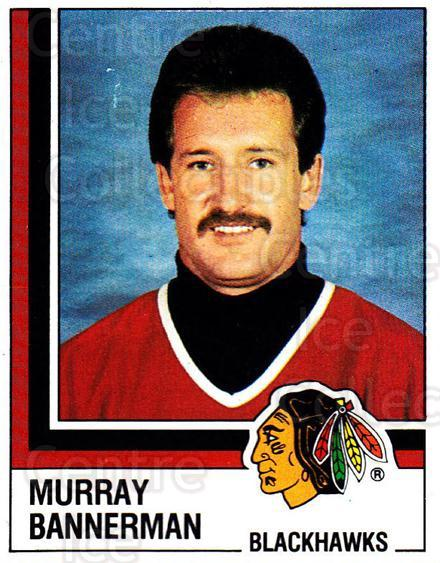 1987-88 Panini Stickers #221 Murray Bannerman<br/>37 In Stock - $2.00 each - <a href=https://centericecollectibles.foxycart.com/cart?name=1987-88%20Panini%20Stickers%20%23221%20Murray%20Bannerma...&quantity_max=37&price=$2.00&code=476601 class=foxycart> Buy it now! </a>