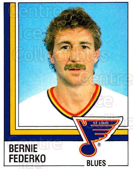 1987-88 Panini Stickers #312 Bernie Federko<br/>61 In Stock - $2.00 each - <a href=https://centericecollectibles.foxycart.com/cart?name=1987-88%20Panini%20Stickers%20%23312%20Bernie%20Federko...&quantity_max=61&price=$2.00&code=476692 class=foxycart> Buy it now! </a>
