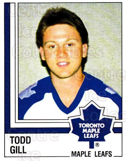 <a href=index.aspx?SetName=1987-88%20Panini%20Stickers>1987-88 Panini Stickers</a> #324 <a href=index.aspx?PlayerName=Todd%20Gill> Todd Gill</a><br/>3 in stock - $2.00 each - <a href=https://centericecollectibles.foxycart.com/cart?name=1987-88%20Panini%20Stickers%20%23324%20Todd%20Gill...&price=$2.00&code=476704 class=foxycart> Buy it now! </a>