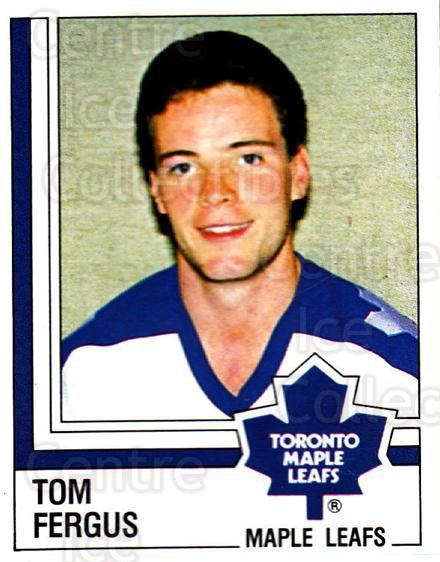 1987-88 Panini Stickers #332 Tom Fergus<br/>22 In Stock - $2.00 each - <a href=https://centericecollectibles.foxycart.com/cart?name=1987-88%20Panini%20Stickers%20%23332%20Tom%20Fergus...&price=$2.00&code=476712 class=foxycart> Buy it now! </a>