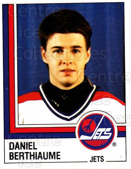1987-88 Panini Stickers #356 Daniel Berthiaume<br/>45 In Stock - $2.00 each - <a href=https://centericecollectibles.foxycart.com/cart?name=1987-88%20Panini%20Stickers%20%23356%20Daniel%20Berthiau...&quantity_max=45&price=$2.00&code=476736 class=foxycart> Buy it now! </a>