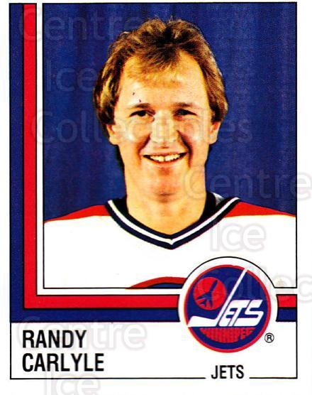 1987-88 Panini Stickers #360 Randy Carlyle<br/>58 In Stock - $2.00 each - <a href=https://centericecollectibles.foxycart.com/cart?name=1987-88%20Panini%20Stickers%20%23360%20Randy%20Carlyle...&quantity_max=58&price=$2.00&code=476740 class=foxycart> Buy it now! </a>