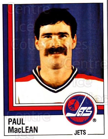 1987-88 Panini Stickers #364 Paul MacLean<br/>51 In Stock - $2.00 each - <a href=https://centericecollectibles.foxycart.com/cart?name=1987-88%20Panini%20Stickers%20%23364%20Paul%20MacLean...&quantity_max=51&price=$2.00&code=476744 class=foxycart> Buy it now! </a>