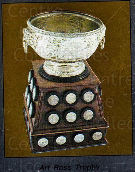 1987-88 Panini Stickers #374 Art Ross Trophy<br/>27 In Stock - $2.00 each - <a href=https://centericecollectibles.foxycart.com/cart?name=1987-88%20Panini%20Stickers%20%23374%20Art%20Ross%20Trophy...&price=$2.00&code=476754 class=foxycart> Buy it now! </a>