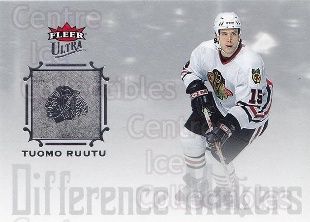 2005-06 Ultra Difference Makers #7 Tuomo Ruutu<br/>5 In Stock - $2.00 each - <a href=https://centericecollectibles.foxycart.com/cart?name=2005-06%20Ultra%20Difference%20Makers%20%237%20Tuomo%20Ruutu...&quantity_max=5&price=$2.00&code=476783 class=foxycart> Buy it now! </a>