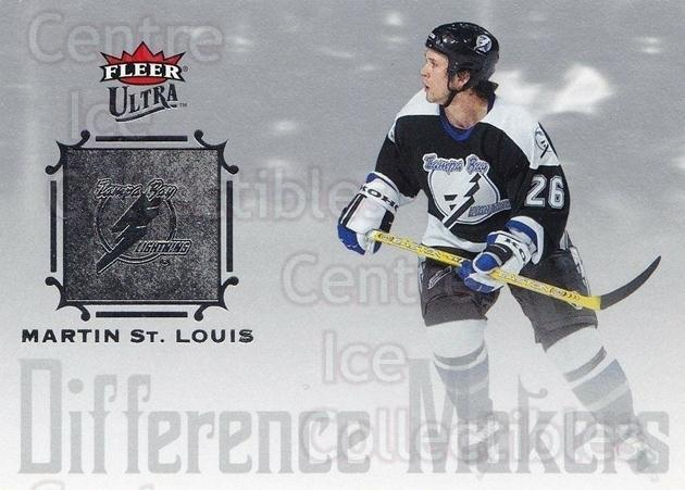 2005-06 Ultra Difference Makers #10 Martin St. Louis<br/>6 In Stock - $2.00 each - <a href=https://centericecollectibles.foxycart.com/cart?name=2005-06%20Ultra%20Difference%20Makers%20%2310%20Martin%20St.%20Loui...&quantity_max=6&price=$2.00&code=476786 class=foxycart> Buy it now! </a>