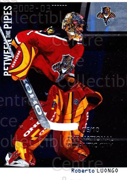 <a href=index.aspx?SetName=2002-03%20Between%20the%20Pipes%20National%20Atlantic%20City>2002-03 Between the Pipes National Atlantic City</a> #4 <a href=index.aspx?PlayerName=Roberto%20Luongo> Roberto Luongo</a><br/>1 in stock - $5.00 each - <a href=https://centericecollectibles.foxycart.com/cart?name=2002-03%20Between%20the%20Pipes%20National%20Atlantic%20City%20%234%20Roberto%20Luongo...&price=$5.00&code=477178 class=foxycart> Buy it now! </a>