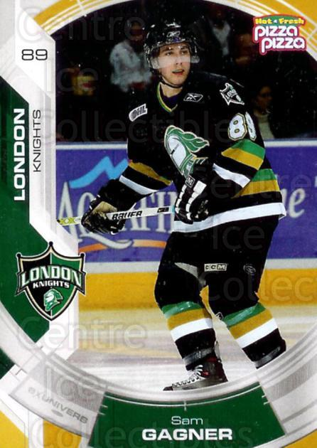 2006-07 London Knights #1 Sam Gagne<br/>2 In Stock - $5.00 each - <a href=https://centericecollectibles.foxycart.com/cart?name=2006-07%20London%20Knights%20%231%20Sam%20Gagne...&quantity_max=2&price=$5.00&code=477359 class=foxycart> Buy it now! </a>