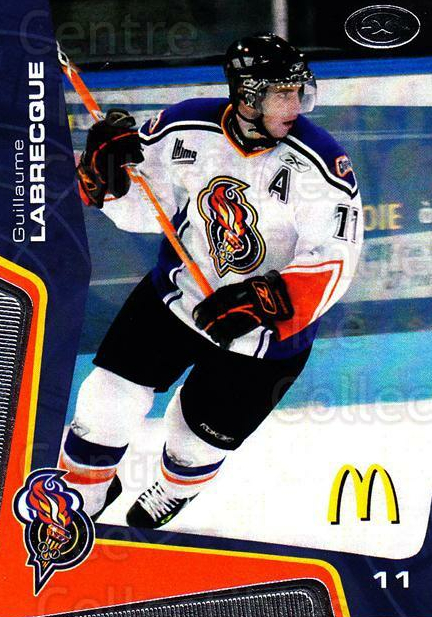 2005-06 Olympiques De Gatineau #3 Guillaume Labrecque<br/>6 In Stock - $3.00 each - <a href=https://centericecollectibles.foxycart.com/cart?name=2005-06%20Olympiques%20De%20Gatineau%20%233%20Guillaume%20Labre...&quantity_max=6&price=$3.00&code=477488 class=foxycart> Buy it now! </a>