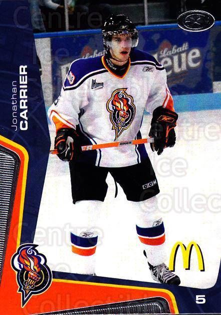 2005-06 Olympiques De Gatineau #11 Jonathan Carrier<br/>6 In Stock - $3.00 each - <a href=https://centericecollectibles.foxycart.com/cart?name=2005-06%20Olympiques%20De%20Gatineau%20%2311%20Jonathan%20Carrie...&quantity_max=6&price=$3.00&code=477496 class=foxycart> Buy it now! </a>