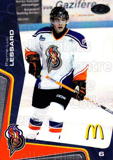 2005-06 Olympiques De Gatineau #12 Pierre-Luc Lessard<br/>4 In Stock - $3.00 each - <a href=https://centericecollectibles.foxycart.com/cart?name=2005-06%20Olympiques%20De%20Gatineau%20%2312%20Pierre-Luc%20Less...&quantity_max=4&price=$3.00&code=477497 class=foxycart> Buy it now! </a>