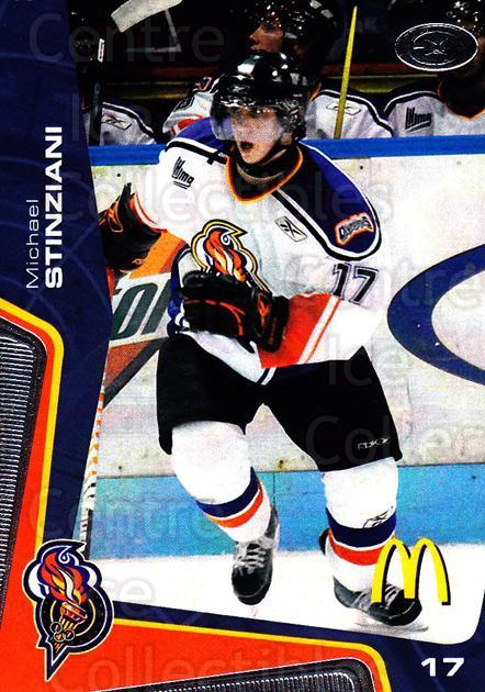 2005-06 Olympiques De Gatineau #14 Michael Stinziani<br/>6 In Stock - $3.00 each - <a href=https://centericecollectibles.foxycart.com/cart?name=2005-06%20Olympiques%20De%20Gatineau%20%2314%20Michael%20Stinzia...&quantity_max=6&price=$3.00&code=477499 class=foxycart> Buy it now! </a>