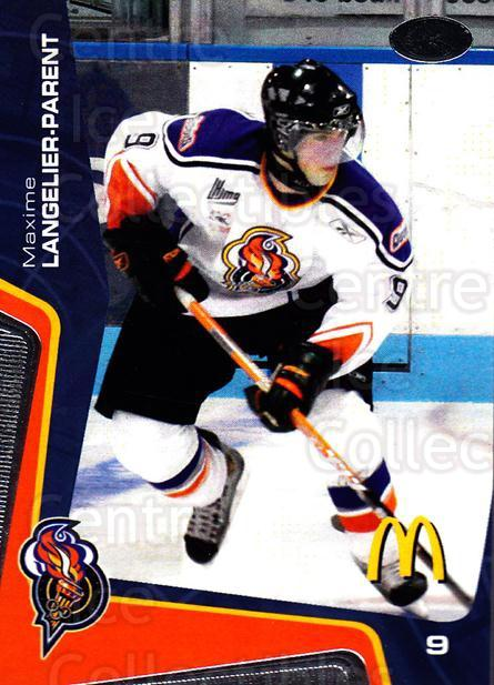2005-06 Olympiques De Gatineau #19 Maxime Langelier-Parent<br/>1 In Stock - $3.00 each - <a href=https://centericecollectibles.foxycart.com/cart?name=2005-06%20Olympiques%20De%20Gatineau%20%2319%20Maxime%20Langelie...&quantity_max=1&price=$3.00&code=477504 class=foxycart> Buy it now! </a>