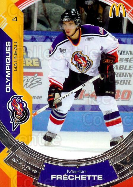 2006-07 Olympiques De Gatineau #1 Martin Frechette<br/>5 In Stock - $3.00 each - <a href=https://centericecollectibles.foxycart.com/cart?name=2006-07%20Olympiques%20De%20Gatineau%20%231%20Martin%20Frechett...&price=$3.00&code=477514 class=foxycart> Buy it now! </a>