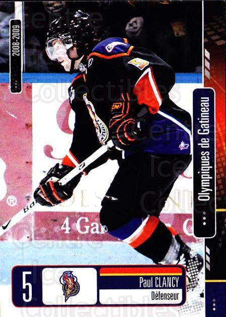 2008-09 Olympiques De Gatineau #4 Paul Clancy<br/>4 In Stock - $3.00 each - <a href=https://centericecollectibles.foxycart.com/cart?name=2008-09%20Olympiques%20De%20Gatineau%20%234%20Paul%20Clancy...&quantity_max=4&price=$3.00&code=477544 class=foxycart> Buy it now! </a>