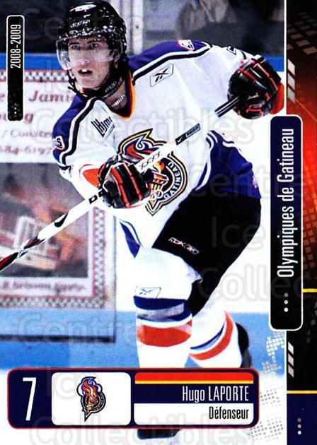 2008-09 Olympiques De Gatineau #6 Hugo Laporte<br/>4 In Stock - $3.00 each - <a href=https://centericecollectibles.foxycart.com/cart?name=2008-09%20Olympiques%20De%20Gatineau%20%236%20Hugo%20Laporte...&quantity_max=4&price=$3.00&code=477546 class=foxycart> Buy it now! </a>