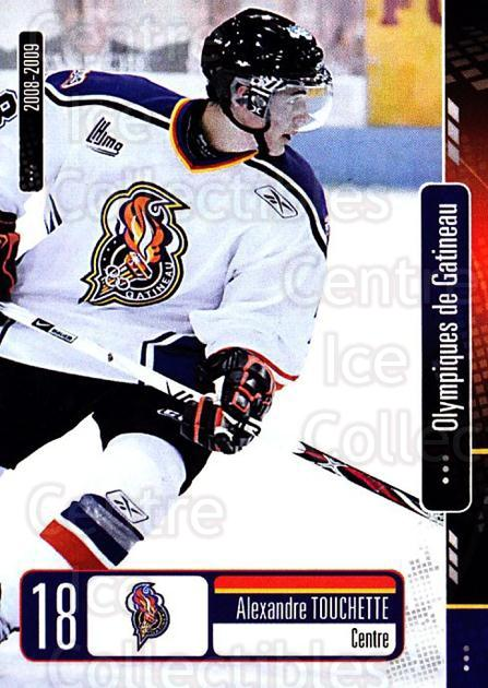 2008-09 Olympiques De Gatineau #13 Alexandre Touchette<br/>4 In Stock - $3.00 each - <a href=https://centericecollectibles.foxycart.com/cart?name=2008-09%20Olympiques%20De%20Gatineau%20%2313%20Alexandre%20Touch...&quantity_max=4&price=$3.00&code=477553 class=foxycart> Buy it now! </a>