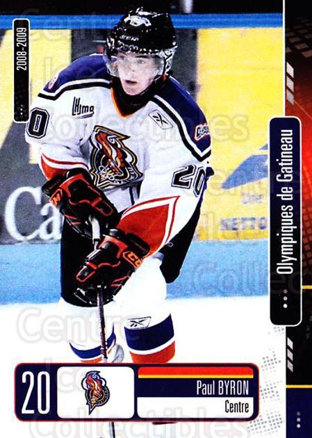 2008-09 Olympiques De Gatineau #15 Paul Byron<br/>3 In Stock - $3.00 each - <a href=https://centericecollectibles.foxycart.com/cart?name=2008-09%20Olympiques%20De%20Gatineau%20%2315%20Paul%20Byron...&quantity_max=3&price=$3.00&code=477555 class=foxycart> Buy it now! </a>