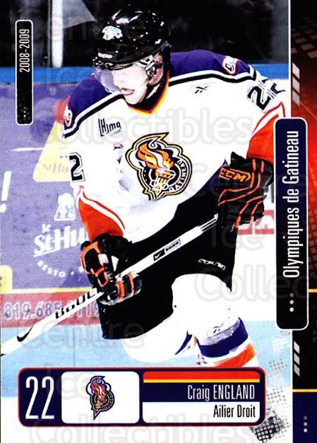 2008-09 Olympiques De Gatineau #17 Craig England<br/>4 In Stock - $3.00 each - <a href=https://centericecollectibles.foxycart.com/cart?name=2008-09%20Olympiques%20De%20Gatineau%20%2317%20Craig%20England...&quantity_max=4&price=$3.00&code=477557 class=foxycart> Buy it now! </a>