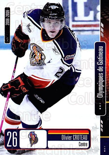 2008-09 Olympiques De Gatineau #20 Olivier Croteau<br/>1 In Stock - $3.00 each - <a href=https://centericecollectibles.foxycart.com/cart?name=2008-09%20Olympiques%20De%20Gatineau%20%2320%20Olivier%20Croteau...&quantity_max=1&price=$3.00&code=477560 class=foxycart> Buy it now! </a>