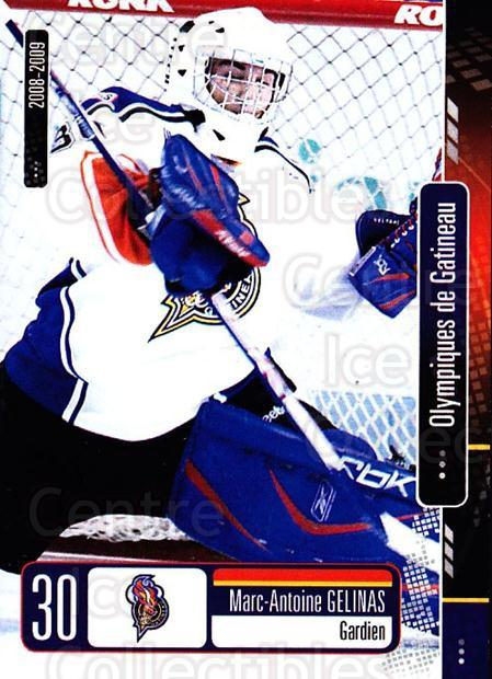 2008-09 Olympiques De Gatineau #22 Marc-Antoine Gelinas<br/>4 In Stock - $3.00 each - <a href=https://centericecollectibles.foxycart.com/cart?name=2008-09%20Olympiques%20De%20Gatineau%20%2322%20Marc-Antoine%20Ge...&quantity_max=4&price=$3.00&code=477562 class=foxycart> Buy it now! </a>