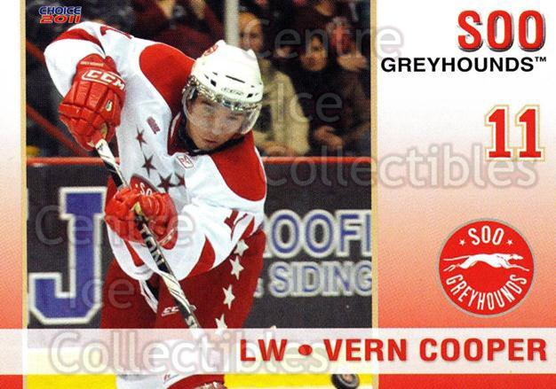 2010-11 Sault Ste. Marie Greyhounds #7 Vern Cooper<br/>2 In Stock - $3.00 each - <a href=https://centericecollectibles.foxycart.com/cart?name=2010-11%20Sault%20Ste.%20Marie%20Greyhounds%20%237%20Vern%20Cooper...&quantity_max=2&price=$3.00&code=477572 class=foxycart> Buy it now! </a>