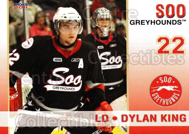2010-11 Sault Ste. Marie Greyhounds #15 Dylan King<br/>3 In Stock - $3.00 each - <a href=https://centericecollectibles.foxycart.com/cart?name=2010-11%20Sault%20Ste.%20Marie%20Greyhounds%20%2315%20Dylan%20King...&quantity_max=3&price=$3.00&code=477580 class=foxycart> Buy it now! </a>