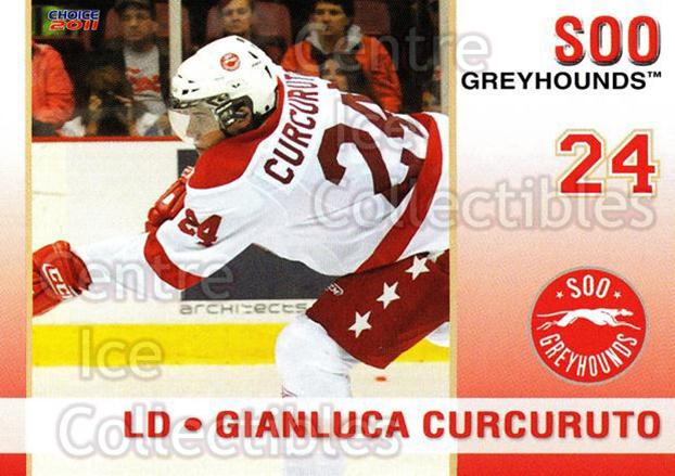 2010-11 Sault Ste. Marie Greyhounds #17 Gianluca Curcuruto<br/>4 In Stock - $3.00 each - <a href=https://centericecollectibles.foxycart.com/cart?name=2010-11%20Sault%20Ste.%20Marie%20Greyhounds%20%2317%20Gianluca%20Curcur...&quantity_max=4&price=$3.00&code=477582 class=foxycart> Buy it now! </a>