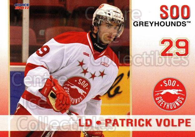 2010-11 Sault Ste. Marie Greyhounds #22 Patrick Volpe<br/>4 In Stock - $3.00 each - <a href=https://centericecollectibles.foxycart.com/cart?name=2010-11%20Sault%20Ste.%20Marie%20Greyhounds%20%2322%20Patrick%20Volpe...&quantity_max=4&price=$3.00&code=477587 class=foxycart> Buy it now! </a>