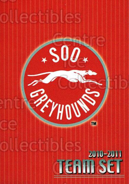2010-11 Sault Ste. Marie Greyhounds #25 Header, Checklist<br/>3 In Stock - $3.00 each - <a href=https://centericecollectibles.foxycart.com/cart?name=2010-11%20Sault%20Ste.%20Marie%20Greyhounds%20%2325%20Header,%20Checkli...&quantity_max=3&price=$3.00&code=477590 class=foxycart> Buy it now! </a>