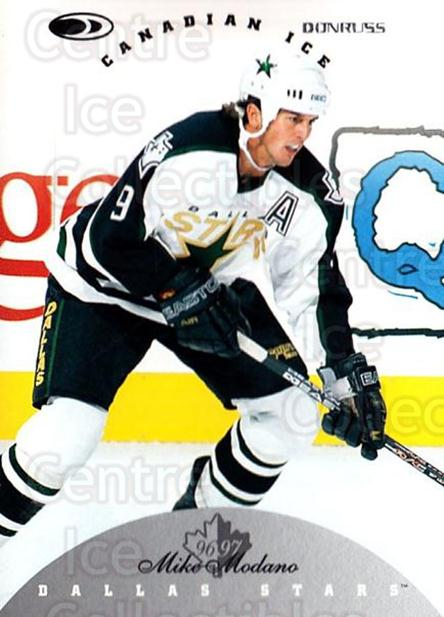 1996-97 Canadian Ice #25 Mike Modano<br/>5 In Stock - $1.00 each - <a href=https://centericecollectibles.foxycart.com/cart?name=1996-97%20Canadian%20Ice%20%2325%20Mike%20Modano...&quantity_max=5&price=$1.00&code=47759 class=foxycart> Buy it now! </a>