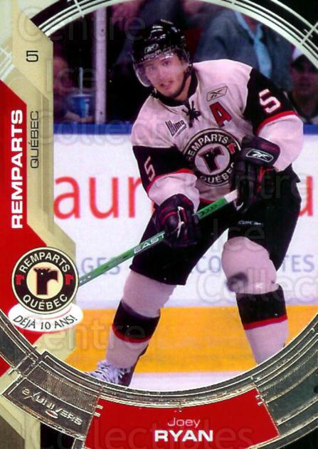 2006-07 Quebec Remparts #3 Joey Ryan<br/>3 In Stock - $3.00 each - <a href=https://centericecollectibles.foxycart.com/cart?name=2006-07%20Quebec%20Remparts%20%233%20Joey%20Ryan...&price=$3.00&code=477643 class=foxycart> Buy it now! </a>