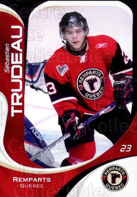 2007-08 Quebec Remparts #26 Sebastien Trudeau<br/>7 In Stock - $3.00 each - <a href=https://centericecollectibles.foxycart.com/cart?name=2007-08%20Quebec%20Remparts%20%2326%20Sebastien%20Trude...&price=$3.00&code=477668 class=foxycart> Buy it now! </a>